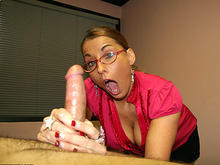 Stacie Star Over 40 Handjob