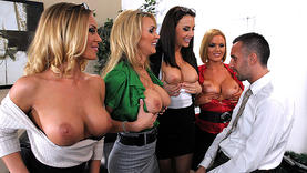 amazing milfs in the office