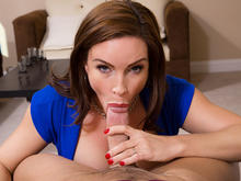 Diamond Foxxx & Johnny Castle in Seduced by a cougar