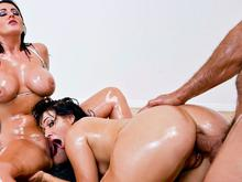 A Totally Epic All-Anal Threesome