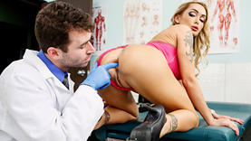 milf and teen ass fucked with doctor