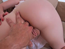 Euro Blonde - Hard First Anal