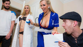 nurse milf ass fucked with doctor