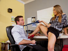 Kristina Rose & Jordan Ash in Naughty Office
