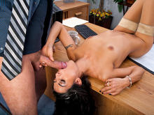 Lou Charmelle & Alec Knight in Naughty Office