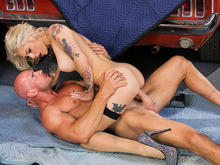 Kleio Valentien, Johnny Sins in Naughty Office