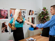 Bridgette B. & Chris Johnson in Naughty Office