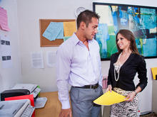 Rachel Roxxx & Johnny Castle in Naughty Office