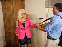 Briana Blair & War Machine in Naughty Office