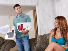 Monique Fuentes & Mikey Butders in Seduced by a cougar