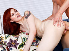 Phoenix Askani & Mark Wood in Naughty Bookworms