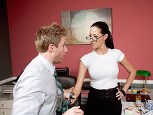 Kortney Kane & Levi Cash in Naughty Office