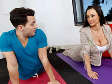 Lisa Ann & Mikey Butders in Naughty Athletics