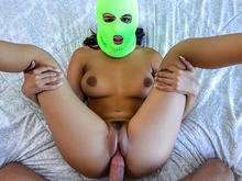 Sexy Robber Chick Fucked Good
