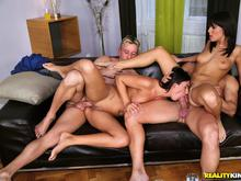 Ass sex and group and milf