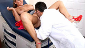 naughty milf with doctor