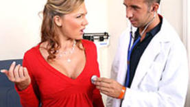 amazing milf with doctor