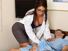 Tit nurse fake