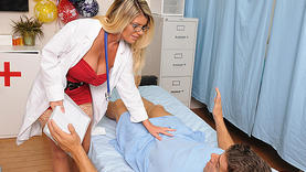 kristal summers gets massive facial with doctor