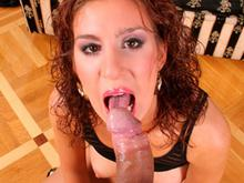 Pretty Young Coed Is So Horny She Smokes The Pole!