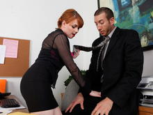 Marie McCray & Jordan Ash in Naughty Office