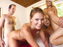 Fast-Food Pussy w/ Bridgette B, Stephanie Cane,& Katie Summers